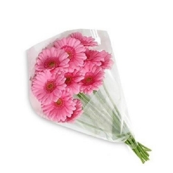 Букет из розовых гербер...