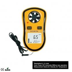 Измеритель скорости ветра...