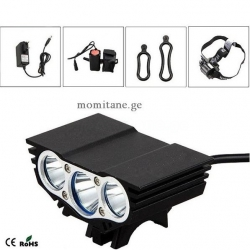 LED light for bicycle with...