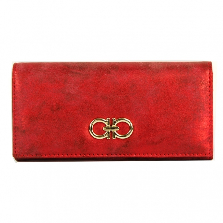 Women's Wallet Ruby, High Quality Artificial Leather (Size 18.5 X 9 cm)