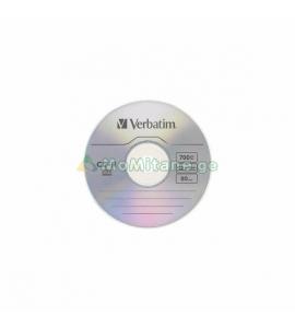 კომპაქტური დისკი, VERBATIM CD-R 52X, 700MB, WRAP EXTRA PROTECTION
