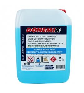 5 L,  65% hand sanitizer,...