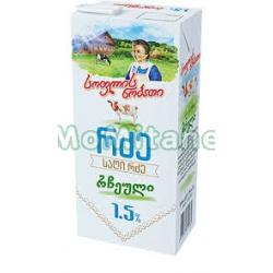 1 ლ. 1.5% რძე , სოფლის...