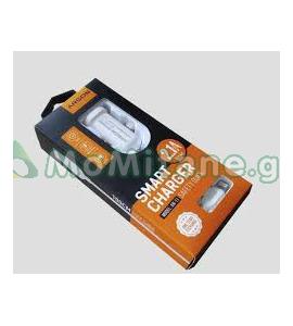 2.1 A დამტენი, ავტომობილისთვის, სწრაფი დამტენი, ორმაგი USB პორტით ATSON AN-11