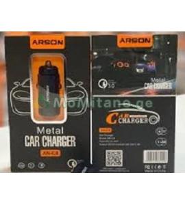 3.0 A დამტენი, ავტომობილისთვის, სწრაფი დამტენი, ერთმაგი USB პორტით ATSON AN-C8