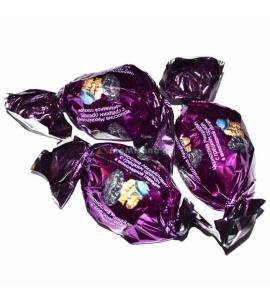 500 გრ. შავი ქლიავით და ნიგვზით , შოკოლადის კანფეტი, ,, მიხაილოვიჩი '' შოკოლადი, კამფეტი.