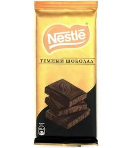 90 გრ. შავი შოკოლადის ფილა, ნესტლე, Nestle, პლიტკა.