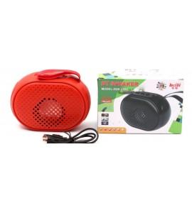 ბლუთუზ დინამიკი, USB სადენი, სპიკერი, წითელი, ბლუთუზ (bluetooth) Wireless BT Speaker ZQS-2201