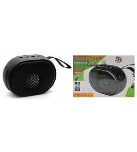 ბლუთუზ დინამიკი, USB სადენი, სპიკერი, შავი, ბლუთუზ (bluetooth) Wireless BT Speaker ZQS-2201