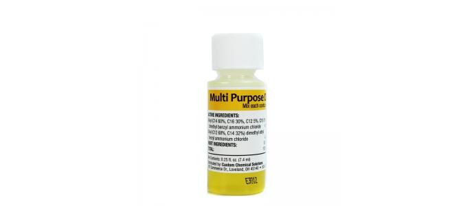კლავს 99.9 % ბაქტერიებს და ვირუსებს, მათშორის A ტიპის და H1N1 ვირუსების საწინააღმდეგო საწმენდი სითხე. იხსნება 900 მლ წყალში.